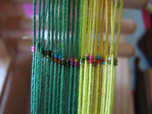inkle rainbow heddles