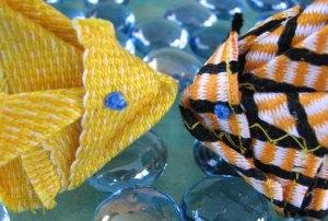 Inkle Origami Goldfish