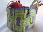 Inkle Band Basket