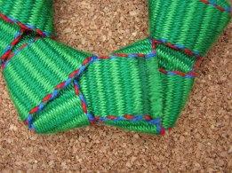 inkledpink.com tutorial wreath ornament step5