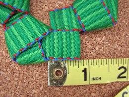 inkledpink.com tutorial wreath ornament step6