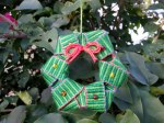inkledpink.com wreath christmas ornament